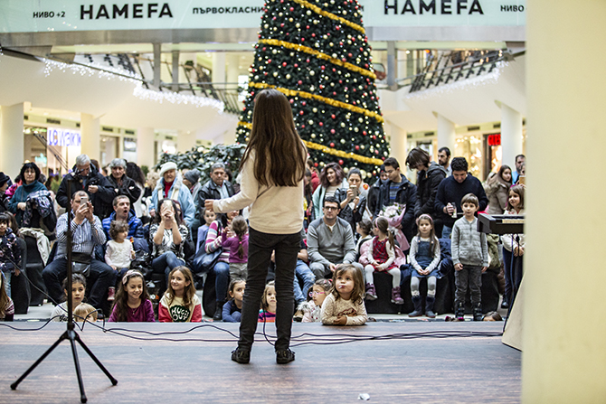 Christmas Concert in Bulgaria Mall - 08.12.2018